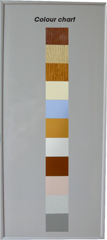 Aluminium Bathroom Door(Toilet Door, Bifold Door) Color Chart