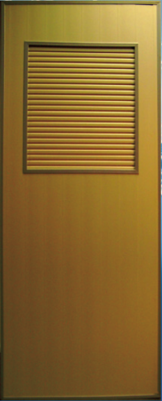 Brown UPVC Bathroom Door(Toilet Door, Bifold Door)