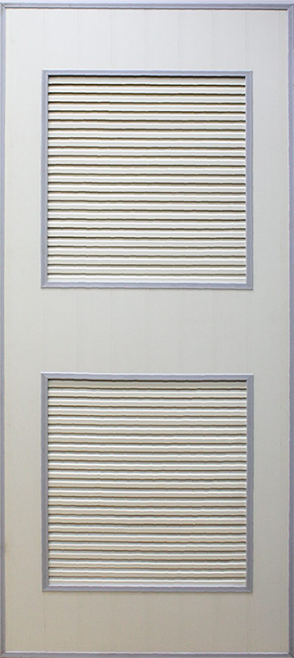 UPVC 2 Panel Bathroom Door(Toilet Door, Bifold Door)