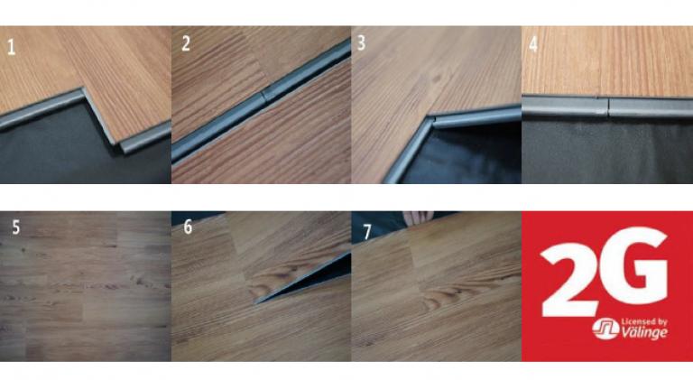 5mm Korean Loc Vinyl Flooring, 5mm Vinyl Flooring